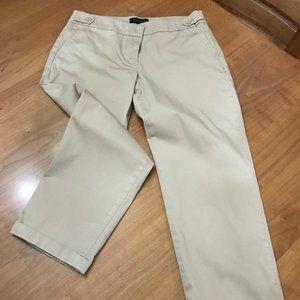 Tan Talbot's Ankle Length Signature Pants  Sz 10